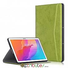 Чохол HUAWEI Matepad T10s T10 10.1 Fashion textile book apple green