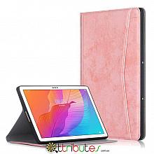 Чохол HUAWEI Matepad T10s T10 10.1 Fashion textile book pink