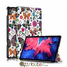 Чохол  Lenovo Tab P11 TB-J606L 2021 Print ultraslim butterfly
