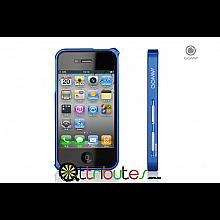 Бампер для iPhone 4s GGMM AviFrame Jewelry Blue