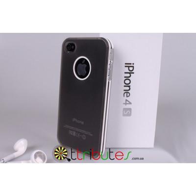 Чехол накладка для iPhone 4/4s белая