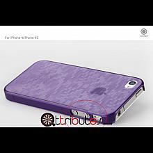 Накладка-чехол для iPhone 4s GGMM Digtal purple