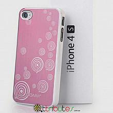 Накладка-чехол для iPhone 4s GGMM Engrave-Balloon Red / white