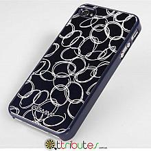 Накладка-чехол для iPhone 4s GGMM Engrave-Cocoon Blue / blue