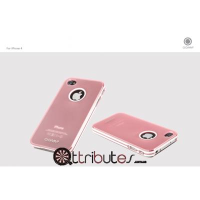 Накладка-чехол для iPhone 4s GGMM Sports Pink